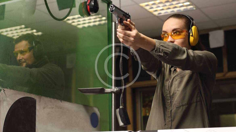 Indoor shooting range